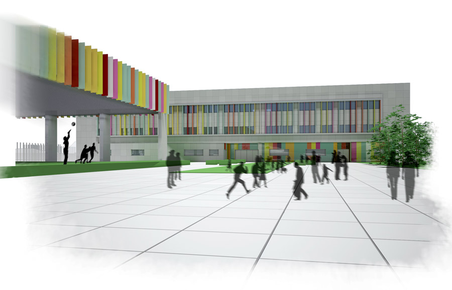 Colegio miraballes bizkaia jma3 arquitectos - Colegio arquitectos bilbao ...